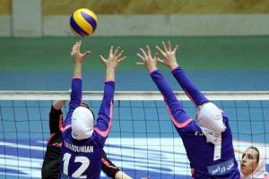 معرفی برترین های مسابقات والیبال بانوان کارمند دولت استان یزد
