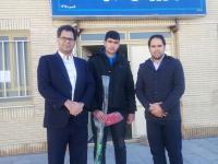 ورزشکار خراسان جنوبی، در اردوی تیم ملی هاکی