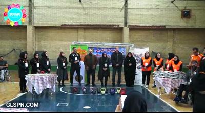 دومین مسابقه پاراکتل بل (کتل بل معلولین) استان تهران در مجموعه ورزشی 22 بهمن
