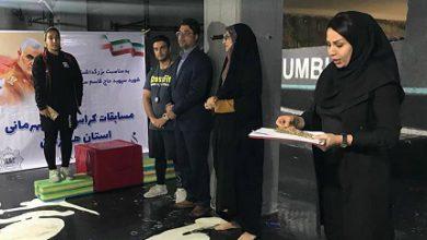 نفرات برتر کراسفیت بانوان استان هرمزگان روی سکو رفتند