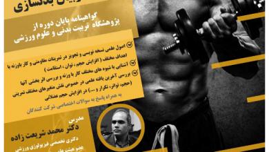 Photo of موسسه با مربی برگزار می کند